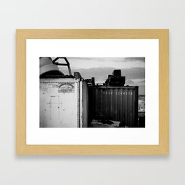 Padstow Containers Framed Art Print