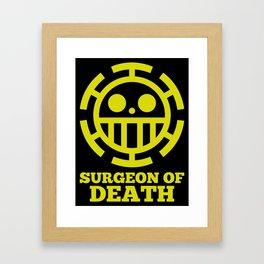 Surgeon Of Death Framed Art Print