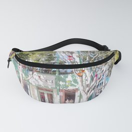 Miami Teal Fanny Pack