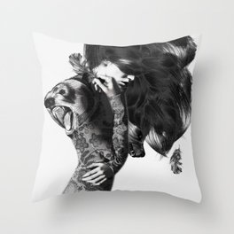 Bear #2 Throw Pillow