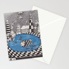 The Boy who wanted to be a Fish, or True Stories from Winter Lake Stationery Cards