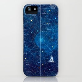 a space map (1) iPhone Case