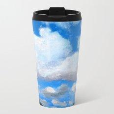 Cloudy Sky Metal Travel Mug