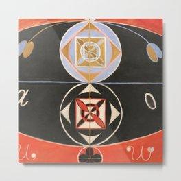 """Hilma af Klint """"Evolution, No. 16, Group VI"""" Metal Print"""