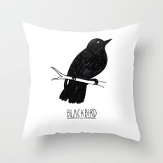 BLVCKBIRD - Blvckbird Throw Pillow