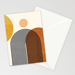 Abstraction_SUN_SUNSHINE_SUMMER_HAPPY_POP_ART_M0504A Stationery Cards