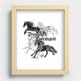 Cavaliers de l'Apocalypse Recessed Framed Print
