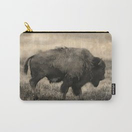 Plains Bison   -  American Buffalo Carry-All Pouch
