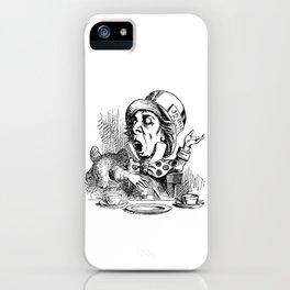 Vintage Mad Hatter iPhone Case