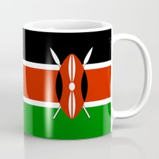 National flag of Kenya - Authentic version, to scale and color Mug