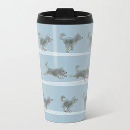 Run Dog, Run! Travel Mug