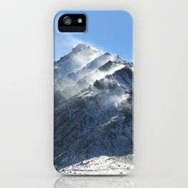 Mammoth Mountains iPhone Case