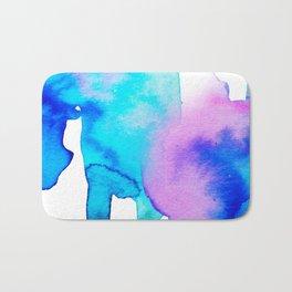Watercolor 01 Bath Mat