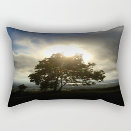 Sunset Tree Rectangular Pillow