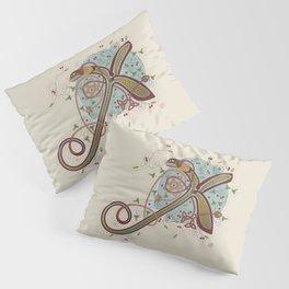 Celtic Initial X Pillow Sham