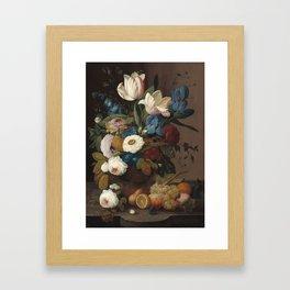 Severin Roesen Still Life Framed Art Print