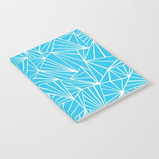 Ab Fan Electric Blue Notebook