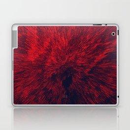 Bold Burst in Brilliant Red Laptop & iPad Skin