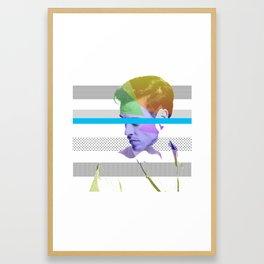 Rainbow Man Framed Art Print