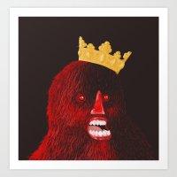 KINGOF Art Print
