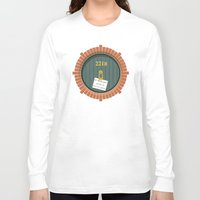 221b Long Sleeve T-shirts featuring 221B Bag End by sirwatson