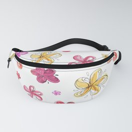 plumeria candy Fanny Pack