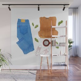 Outfit of the day-01 Wall Mural