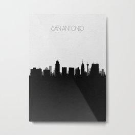 City Skylines: San Antonio Metal Print