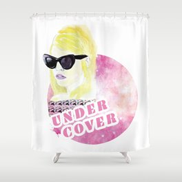 Under cover (detective) Shower Curtain