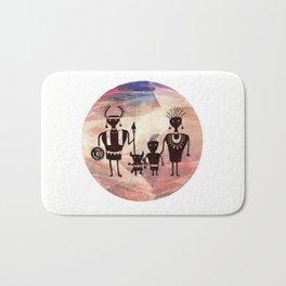 Family Portrait Bath Mat