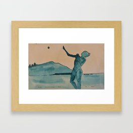 Moon Dance Framed Art Print