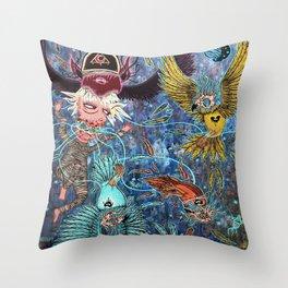 Spirit Migration Throw Pillow