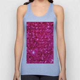 SparklE Hot Pink Unisex Tank Top