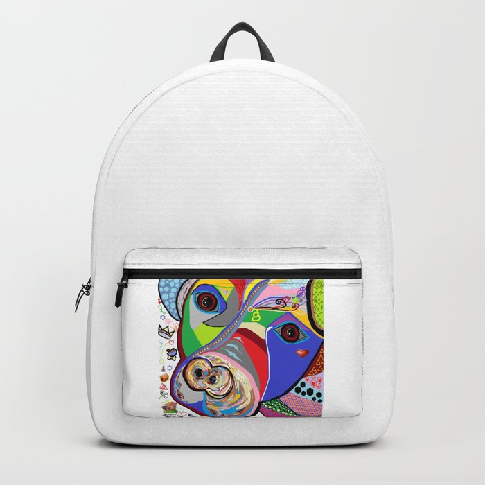 Pretty Pitty Pitbull Terrier Backpack