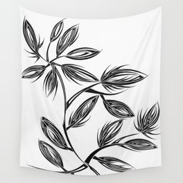 Flower Buds Wall Tapestry