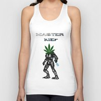 master chief Tank Tops featuring Master Kief (Chief) by ThingsStonersLove