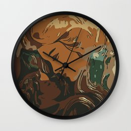 Mother and baby Wall Clock
