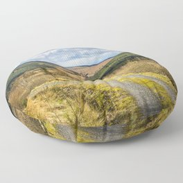 Highland Track Floor Pillow
