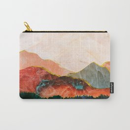 Abstract Mountain Landscape  Digital Art Carry-All Pouch