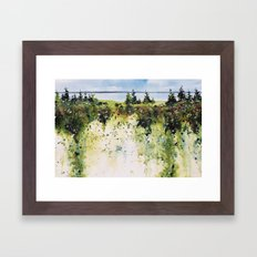 along Sainte Mary's Bay, Nova Scotia Framed Art Print