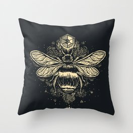 The Birth of Bees Throw Pillow