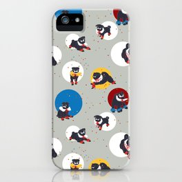 Pug Party iPhone Case