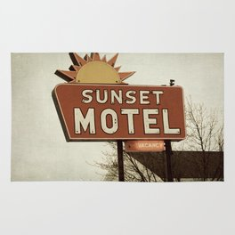 Sunset Motel Rug