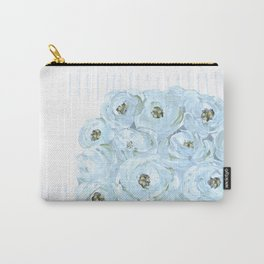 Boho still life flowers in vase Carry-All Pouch