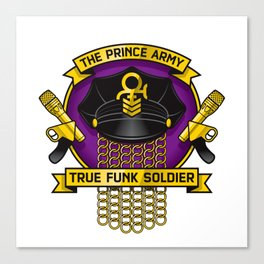 TPA Crest - True Funk Soldier (Reverend design #1) Canvas Print