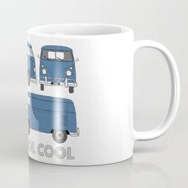old skool cool – vintage commercial panel van in Dove Blue Coffee Mug