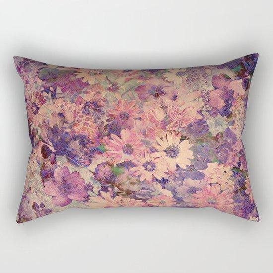 Floral Flood Rectangular Pillow