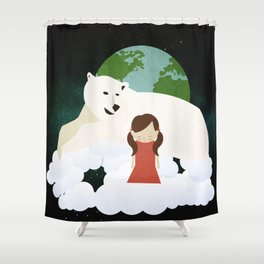 Homesickness 3 Shower Curtain