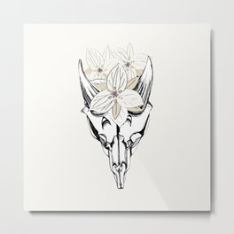 Saola - Jewel of the Ammonites Metal Print