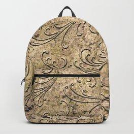 Vintage Damask 17416 Backpack